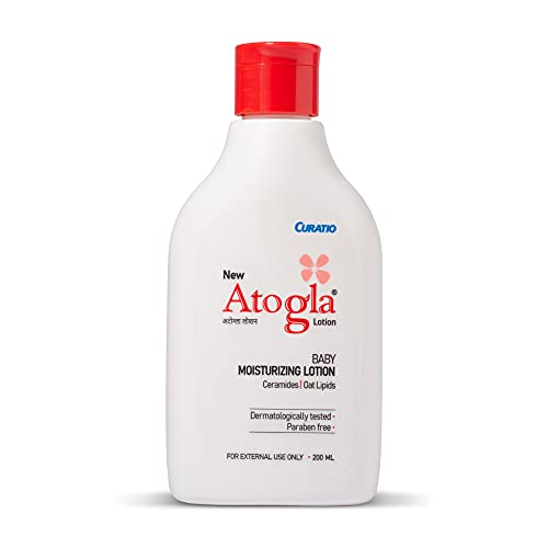 Atogla Lotion | Ultra Soothing Moisturising Baby Lotion| Protects Against Rashes And Prevents Skin Irritation, 200g