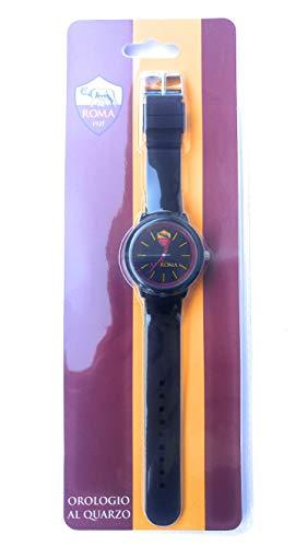 Orologio da polso originale ROMA 39 mm NERO - PRODOTTO UFFICIALE