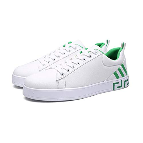 YiWu Chaussures Blanches Chaussures pour Hommes Wild Trainers Movement Chaussures décontractées Personnalité Chaussures de Sport (Size : EU36/UK3.5/CN35)