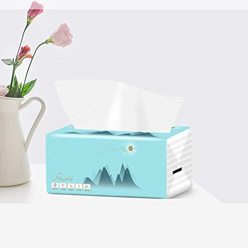 LSSLA Toilettenpapier 4-Lagiges Gewebe Haushaltsholzgewebe Haushaltspapier in Lebensmittelqualität Ist Sicher Und Zuverlässig. EIN Guter Helfer Für Ihr Leben,36packs