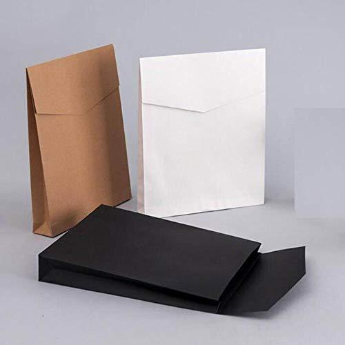 Heng 20 stks bestand pocket kraftpapier envelop geschenkdozen aanwezig pakket tas voor boek sjaal kleding document, 325x400x60mm