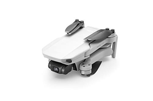 DJI Mavic Mini Drone Ultraleggero e Portatile, Durata Batteria 30 Minuti, Distanza Trasmissione 4 km, Gimbal 3 Assi, 12 MP, Video HD 2.7K
