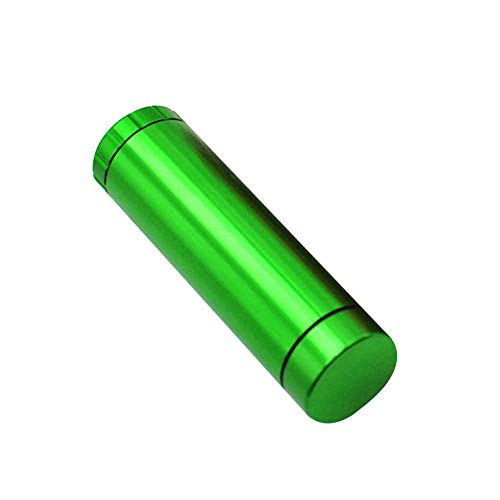 TBBA Amoladora de la trituradora de la trituradora de la máquina de pulir de la Dos-Capa de la aleación de Aluminio con la Pantalla desprendible del micrón,Green