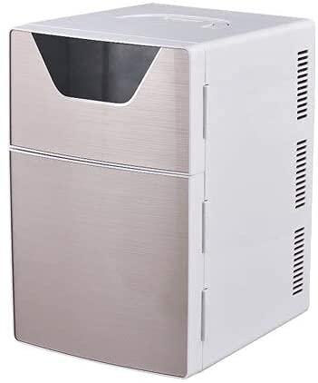 YQDSY Home Home Refrigerador Mini Frigorífico Ac220V / Dc12V Calentador Multifunción Viaje Refrigerador Portátil Hielo Eléctrico F-L20Sa Auto Koelkast 12/220 V-Temperatuurvariaties