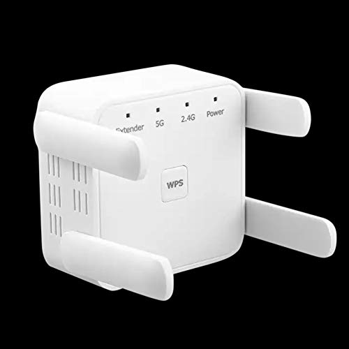 MeterMall WiFi Range Extender 1200Mbps WiFi Booster Repeater Dual Band WPS Wireless Wide Range Wifi Repeater British regulatory