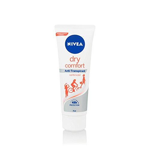5Pack Nivea Dry Comfort Anti Transpirant Deo Creme 5x 75ml