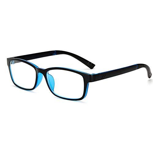 FRGTHYJ Modieuze brillenmontuur van kunststof bont in brilmontuur rijkelijk look retro