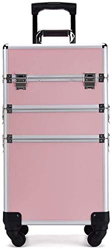 Scatola di immagazzinaggio dell'armadio-può rack d Casa fai da te Tool Set della famiglia bagagli Forniture trucco Toolbox Con Trucco Trucco Suiter rotella universale di grande capienza a più strati d
