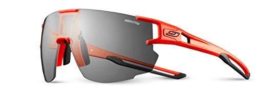 Julbo AeroSPEED Herren-Sonnenbrille, Neonorange / Schwarz, FR (Größe Hersteller: XL)