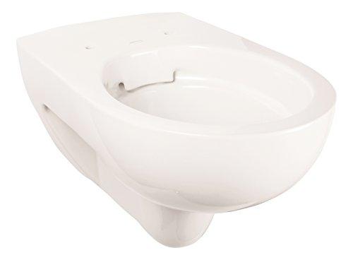 Keramag Spülrandloses Wand-WC Renova Rimfree, 203050, Tiefspüler spülrandlos, Sanitär-Keramik, Weiß, 03981 9