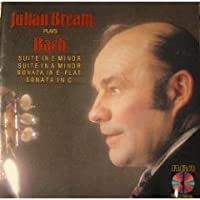 Julian Bream Plays Bach by Julian Bream