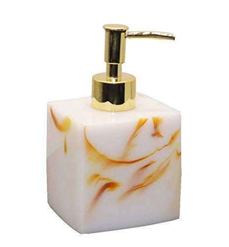 Distributeur de savon pour salle de bain Distributeur de shampoing [Blanc 03]