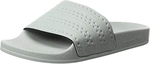 adidas Adilette Zapatos de playa y piscina Hombre, Verde (Linen Green/Linen Green/Linen Green), 37 EU (4 UK)