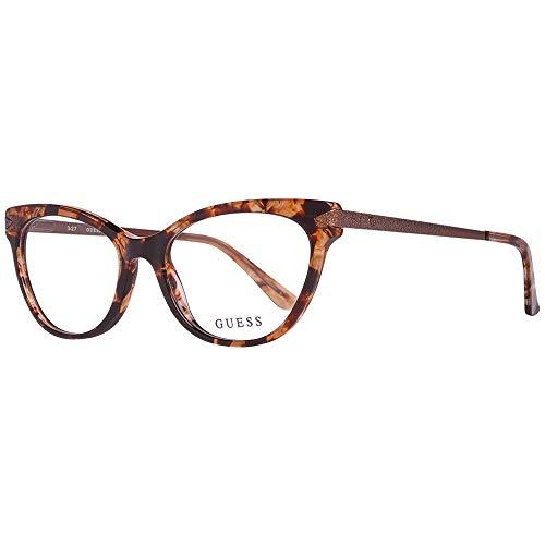 Guess GU2683 Eyeglass Frames - Havana Frame, 52 mm Lens Diameter GU268352056
