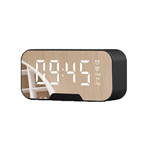 Despertador Digital Despertador Proyector Reloj Despertador Reloj Digital Radio Controlado Reloj Despertador Digital Radio USB Recargable Portátil Espejo De Manos Libres
