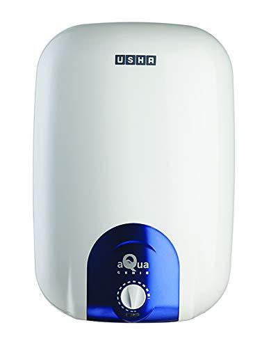 Usha Aquagenie 25 LTR 2000-Watt 5 Star Storage Water Heater (Cyan)