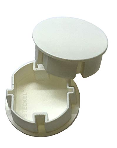 STECKEL Steckdosenabdeckung Staubschutz Deckel Steckdosendeckel, 1 Stück