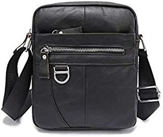 Chliuchihjklstb briefcase, Men Shoulder Bag Cow Leather Crossbody Bag Quality Male Bags Genuine Leather Handbag Crossbody ...