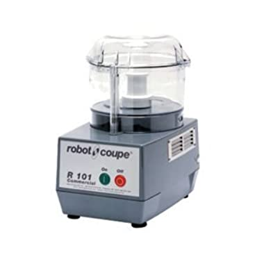 Robot Coupe R 101 B CLR Commercial Food Processor with 2.5-Quart Clear Polycarbonate Bowl, 120-Volts