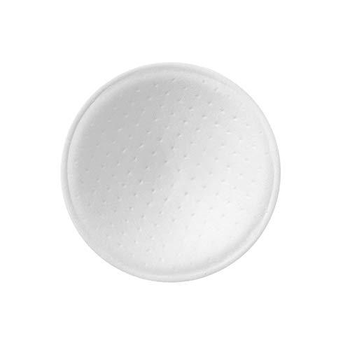 Ljings Almohadillas Sujetador Cosidas Cosidas Extraíbles, Inserciones Almohadillas Sujetador, para Sujetador Deportivo Cómodo para Mujeres, Varias Copas Sujetador Opcionales,Round White Thin