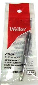Weller 100 Watt Soldring Iron Tip 3/16 for Wpg100 Iron Ct6d7