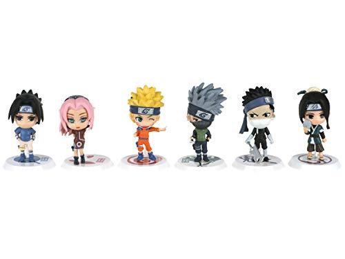 CoolChange Set de Figuras en Forma de Personajes de Naruto 1