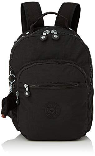 Kipling CLAS SEOUL S Mochila con Compartimento para Tableta, 10 litros, Negro (True Black)