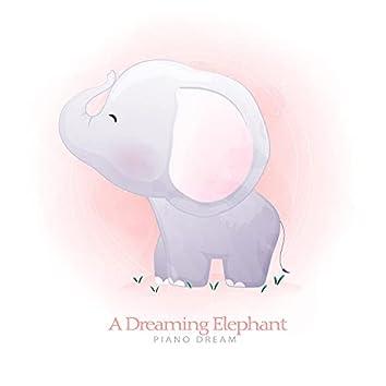 A dreaming elephant