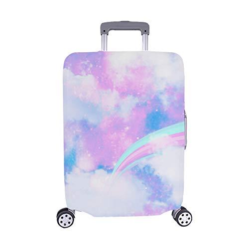 Unicornio Galaxy Cloud Rainbow Print Seamless Stock Illustration Patrón Maleta de Viaje Maleta de...