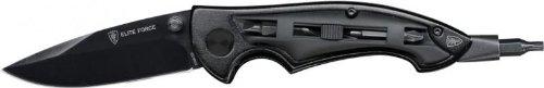 G8DS Set: EF 601 Arbeitsmesser 8 Bits Multitool Einhandmesser mit Coduraetui Messerschärfer