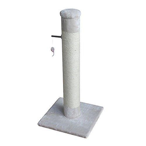 EBI 431-429167 Kratzbaum Post, 38 x 38 x 80 cm, Creme