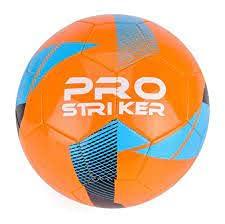 Pro Striker Talla 5 - Balón de fútbol, color naranja