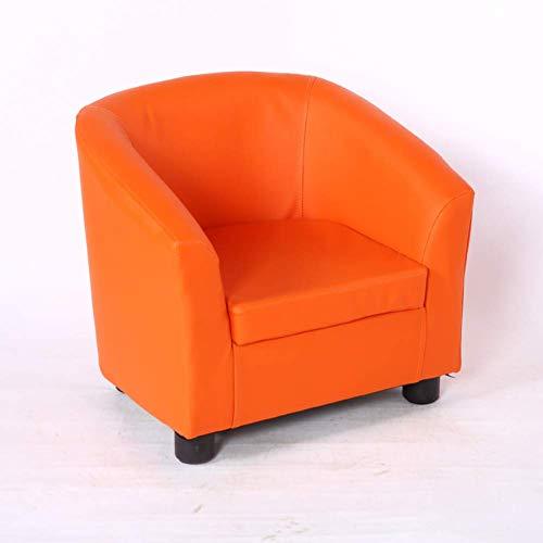 DBSCD Kinder Mini Sofa Kinder;n für Mini-Ledersofa für Kinder Kinder;Weiche konstante Kindermöbel für Wohnzimmer-Kinderzimmer-D 49x45x44cm (19x18x17inch)