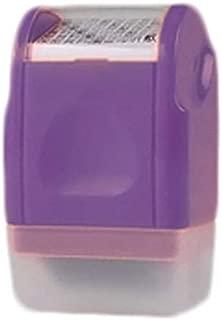 Num/éris/és auto-encreur Tampon en caoutchouc Custom COLOP Bureau stationnaire 14 X 38 MM Violet