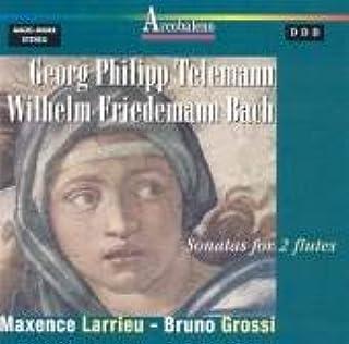 Telemann/Wf Bach;Sons.2 Flu