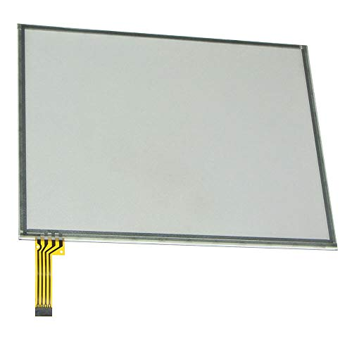 Navigation Touch Screen Glass Panel Digitizer Fit For Dodge Ram 1500 2500 3500 Chassis Cab 2013-2017 Uconnect 3C 8.4-inch 8.4A VP3 RA3 & 8.4AN VP4 RA4 Radio Stereo Receivers Audio Video System GZTAUTO