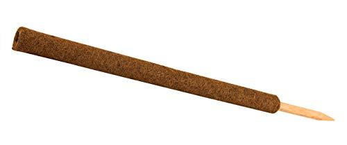 Pflanzstab Kokos 110 cm Rankstab Rankhilfe Blumenstab Kokosstab zur Dekoration aus natürlicher Kokosfaser verlängerbar