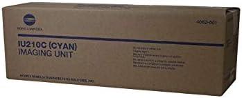 Konica Minolta Genuine Brand Name, OEM 4062501 (4062-501) Cyan Imaging Unit (IU210C) (45K YLD) for Bizhub C250, C252 Printers