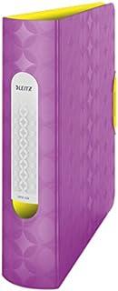 Leitz Lever Arch File, Retro Chic Range, 8 cm Width, 11330065 - A4, Purple