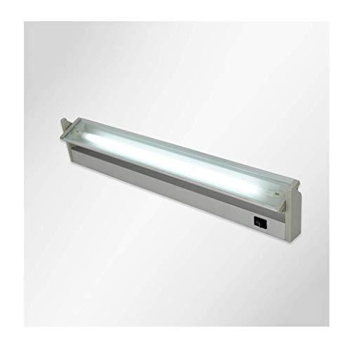 Luz frontal de espejo Faros delanteros de espejo LED - Baño minimalista moderno Lámpara de espejo para inodoro Lámpara de pared Guzhen Lighting Tubo fluorescente de ingeniería para hoteles [Clase ener