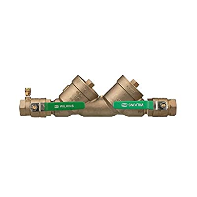 Zurn Wilkins 112-950XLT2 Lead Free FNPT Double Check Valve Backflow Preventer Assembly, 1.5 Inch from Zurn Industries