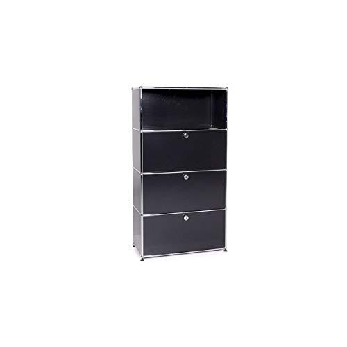 USM Haller Metall Sideboard Schwarz Büromöbel Regal #11033