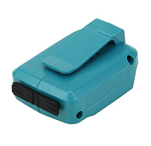 Baster ADP05マキタ互換USBアダプタADP05 14.4V 18Vバッテリー対応 USBアダプタ ADP05 ブルー 一年保証