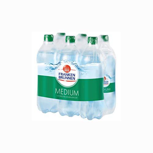 Franken Brunnen Mineralwasser Medium Einwegflaschen 750ml 6er Pack