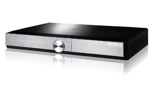 Preisvergleich Produktbild HUMAX Digital iCord Evolution HDTV Quad Satelliten Receiver mit SAT IP Funktion und Festplatte 1000GB (WLAN,  Bluetooth,  CI+,  SD-Kartenslot,  HDMI,  USB) schwarz