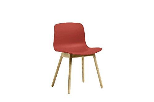 HAY - About a Chair AAC 12 - warm rot - Eiche geseift - HEE Welling - Design - Esszimmerstuhl - Speisezimmerstuhl