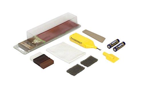Picobello G61613 Holz Reparatur Set (Small) -Parkett Laminat Möbel Treppen-Farbset dunkel