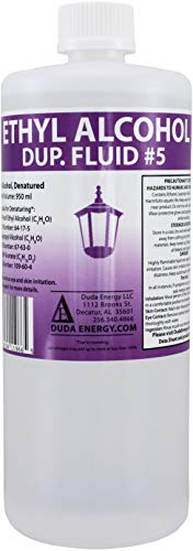 Duda Energy eth950 950 mL Bottle of Denatured Ethanol with 200-Proof Ethyl Alcohol IPA and NP Acetate