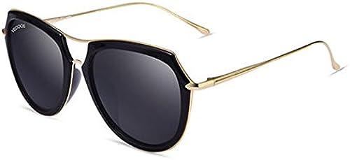 Frauen Sonnenbrille neue Damen runden Gesicht Grün Rahmen Sonnenbrille Damen Polarisator Sonnenbrille fahren,B