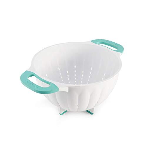 KitchenAid KE166OSAQA Classic Plastic Colander 5Quart Aqua Sky
